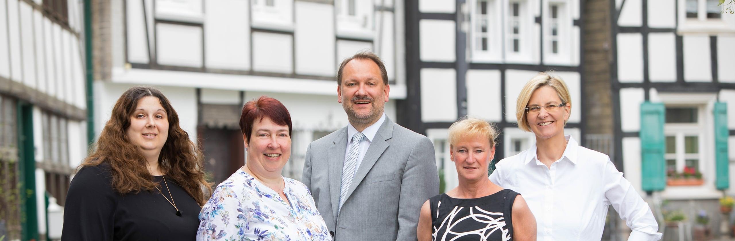 Das Team der Rechtsanwaltskanzlei Markus Matzkeit